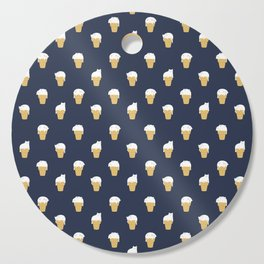 Meowlting Pattern Cutting Board