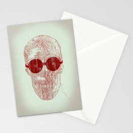 Unravel skull Stationery Cards
