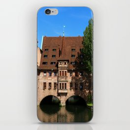 Old Architecture  Nuremberg iPhone Skin