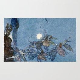 """Elves"" Fairy Tale Art by Edmund Dulac Rug"