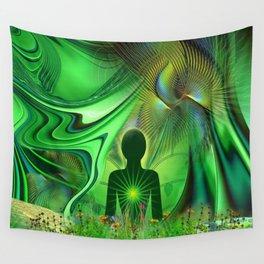 Heart Chakra Energy. Wall Tapestry