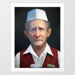 Freedom Fries Art Print