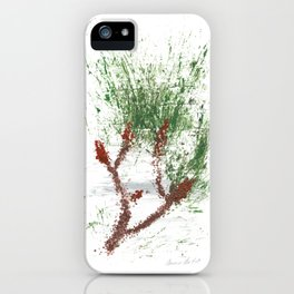 Botanical Impressions: LOBLOLLY PINE 2 iPhone Case