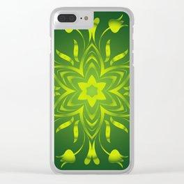 Under the sea mandala Clear iPhone Case