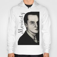 moriarty Hoodies featuring Moriarty by LiseRichardson