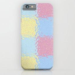 Pastel Jiggly Tile Pattern iPhone Case