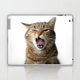 Crazy Cat Laptop & iPad Skin