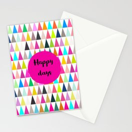 Happy days -  Pennants Stationery Cards