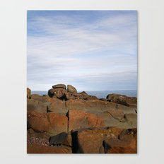 Superior Rocks Canvas Print