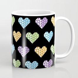 polygons in my heart Coffee Mug