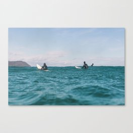 Wait, 2019 Canvas Print