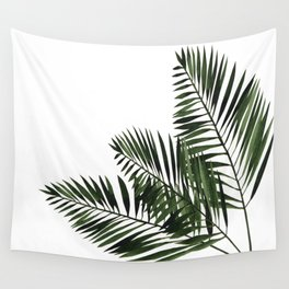 Tropical Exotic Palm Leaves I Wall Tapestry