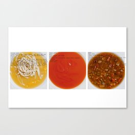 All American Ingredients - Cambell's Canvas Print