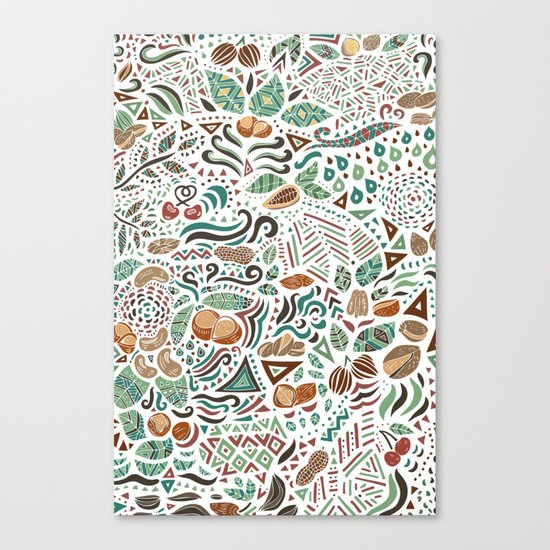 Nuts And Nature Canvas Print