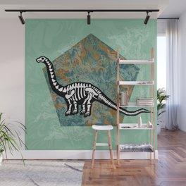 Brachiosaurus Fossil Wall Mural