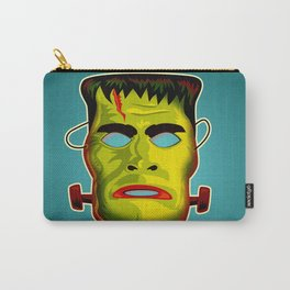 Frankenstein Monster Mask Carry-All Pouch
