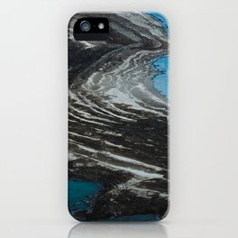 Shrinking of the Dead Sea iPhone Case