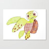 finding nemo Canvas Prints featuring finding nemo by Art_By_Sarah