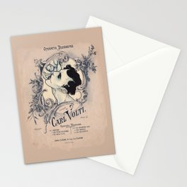 Operatic Blossoms Stationery Cards