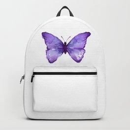 Purple Butterfly Backpack