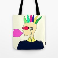 punk Tote Bags featuring punk by Sproot