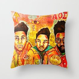 2013 da inner soul yall #delasoul Throw Pillow