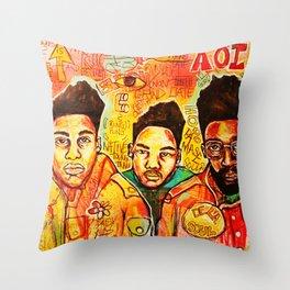 2013 da inner soul yall #delasoul Throw Pillow