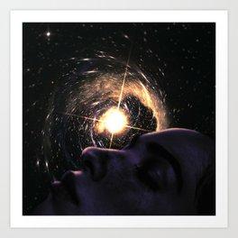 Dreaming The Universe Astronomy Dreamscape Art Print