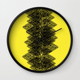Feathered spine Wall Clock
