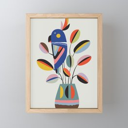 Rubberplant Framed Mini Art Print
