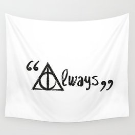 Always Deathly Hallows Wall Tapestry