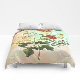 Simply Divine, Vintage Botanical Illustration Comforters