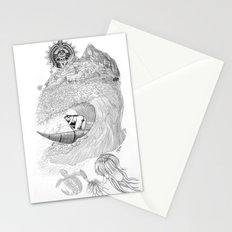 Machu Qun Tiksi Wiraqucha Stationery Cards