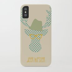 Deer Hipster Slim Case iPhone X