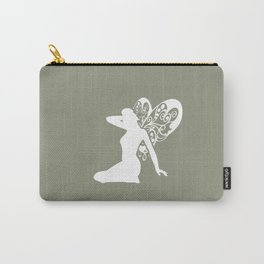 Fairy: Green Carry-All Pouch