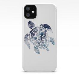 Sea Turtle - Blue Ocean Waves iPhone Case