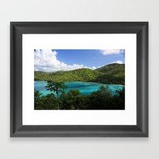 Maho Bay Framed Art Print