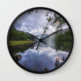 Lakeside Dreams Wall Clock