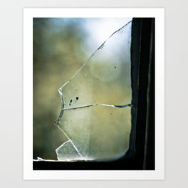 Shattered Images Art Print