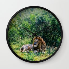 Pride of the Pack Wall Clock