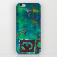 oasis iPhone & iPod Skins featuring Oasis by Cifertherhyme