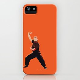Kung Fu Steve 3 | Digital Art iPhone Case