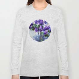 Lilac Branch Long Sleeve T-shirt