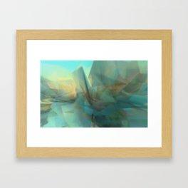 Crysallographer: Soft - 2014-10-16-14-17-3 Framed Art Print