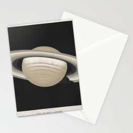 The Trouvelot Astronomical Drawings (1881) - The Planet Saturn, 1874 Stationery Cards