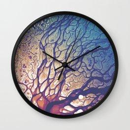 Lena River Delta Fade Wall Clock