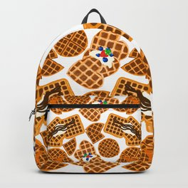 Waffle On Backpack