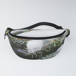 Snow on a Branch 2 Fanny Pack