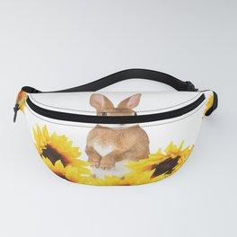 Sunflower Rabbit Fanny Pack