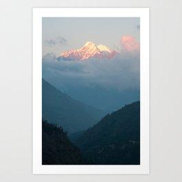 The Himalayas  Art Print